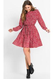 50231ae75 Vestido Bonprix Vermelho feminino