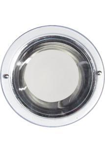 Luminária De Embutir Copo Metalizado 1 Lâmpada Bivolt