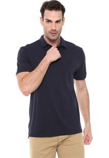 Camisa Polo Timberland Reta Urban Azul-Marinho