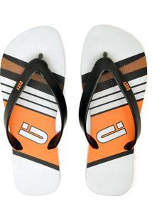 Chinelo Ousy Shoes Verão 2019 Laranja