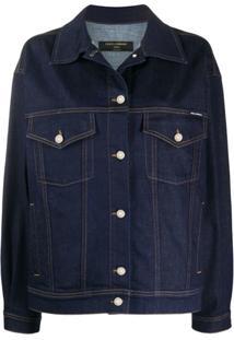 Dolce & Gabbana Underwear Oversized Denim Jacket - Azul