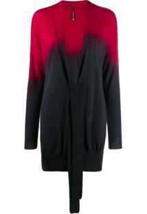 Pierantoniogaspari Tie-Dye Cardigan - Vermelho