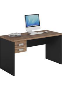 Mesa De Computador 1360 E Gaveteiro Studio Argan/Pretotex-Caemmun