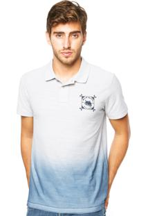 Camisa Polo Red Nose Cinza