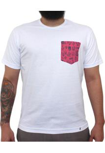 Muy Nacho - Camiseta Clássica Com Bolso Masculina