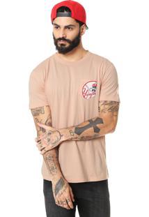 Camiseta New Era New York Yankees Rosa