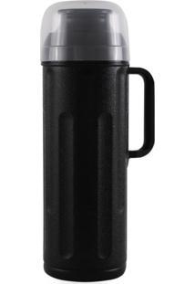 Garrafa Térmica Termolar Personal Rosca 1 Litro Preta - Kanui