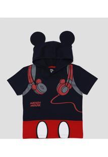 Camiseta Capuz Mickey Mouse