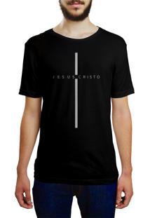 Camiseta Hunter Jesus Cristo Preta