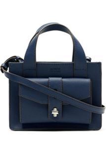 Schutz Bolsa Tiracolo New Minimal - Azul