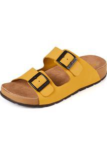 Sandália Side Walk Sandália Anatômica Onda Amarelo