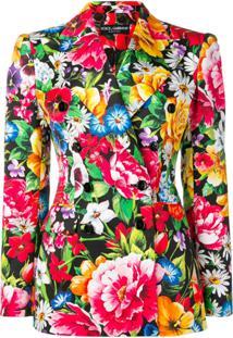 Dolce & Gabbana Blazer Giardino - Preto