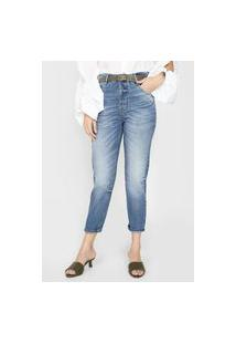 Calça Jeans Forum Mom Lola Azul