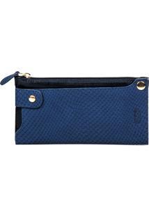 Carteira Artlux Porta Smartphone Azul