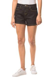 Shorts Jeans Pockets - Marinho - 36
