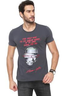 Camiseta Sergio K Steve Jobs Cinza