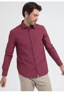 Camisa Manga Longa Comfort Listrado