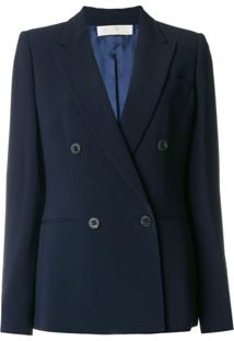Mantu Double Breasted Blazer - Azul