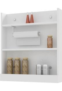 Porta Condimentos Com Suporte Essence Branco - Aroma Cozinhas