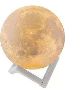 Luminária Luminoso Abajur Led Adoraria Lua Cheia 3D