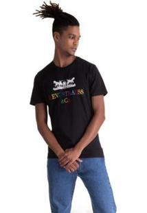 Camiseta Levis Logo 2 Horse Masculina - Masculino-Preto