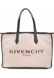 Givenchy Bolsa Tote Com Estampa De Logo - Rosa