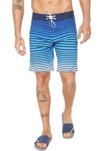 Bermuda Água Dc Shoes Reta Runwithit Azul