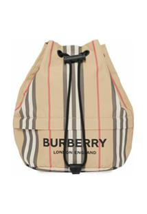 Burberry Carteira Icon Com Estampa De Logo - Neutro
