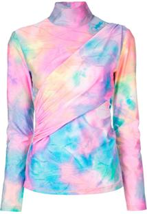 Sies Marjan Blusa Transpassada Tie Dye - Estampado