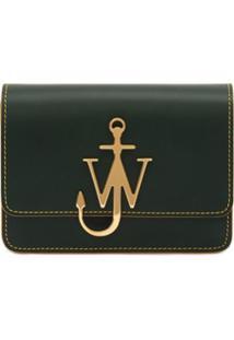 Jw Anderson Anchor Logo Cross-Body Bag - Verde
