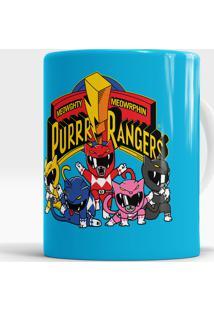 Caneca Purr Rangers