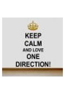 Adesivo De Parede Frase One Direction 2 - P 37X50Cm