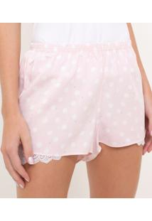 Short De Pijama Poá