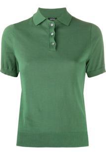 Aspesi Camisa Polo De Tricô - Verde
