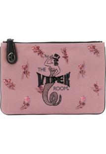 Coach Coach X Viper Room Clutch Bag - Rosa
