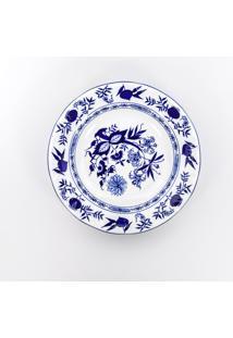 Conjunto De Pratos Fundos Porcelana Schmidt 06 Peças - Dec. Cebolinha