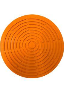 Descanso De Panela De Silicone Laranja 20,5Cm - 25778