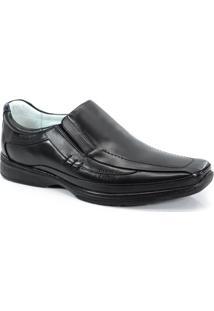 Sapato Social Decoflex Mestico Preto - 6671