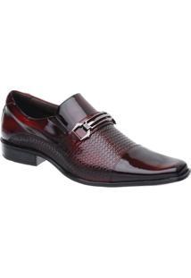 Sapato Social Malbork Em Couro Verniz - Masculino