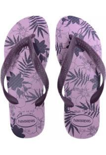 Sandália Feminina Havaianas Color Floral