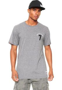 Camiseta Dc Shoes Lucky Seven Cinza
