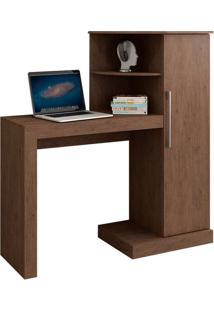 Mesa Para Computador Safira New Castanho