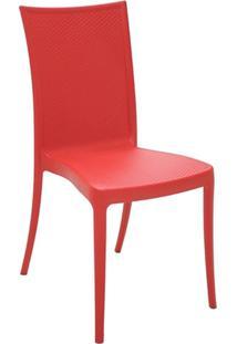 Cadeira Laura Ratan Vermelha 92032040 Tramontina