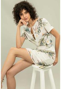Vestido Recorte Estampa Keeling - Lez A Lez