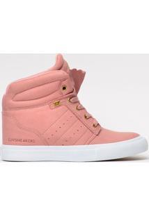 Tênis Mary Jane Street Heel Quartz Mj-4209 - Feminino-Rosa