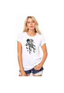 Camiseta Coolest Man In Space Branco