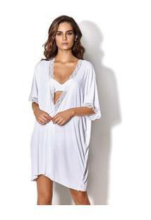 Robe Curto Branco