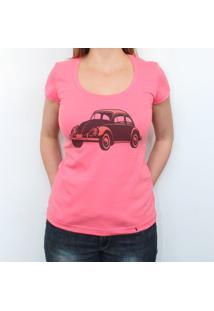 Fusca - Camiseta Clássica Feminina