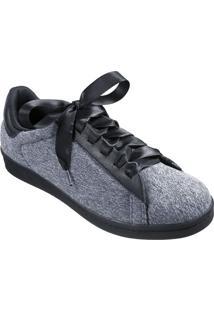 3b9fec236c2 Our Shoes. Tênis Feminino Marina Mello Lycra Mescla Couro Cabra ...