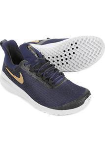 Tênis Nike Renew Rival Feminino - Feminino-Azul+Dourado